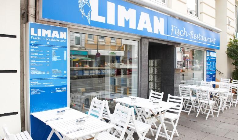 Liman Hamburg Fisch-Restaurant Terasse