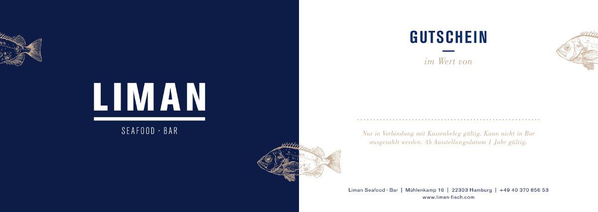 liman fisch restaurant seafood bar in hamburg winterhude. Black Bedroom Furniture Sets. Home Design Ideas