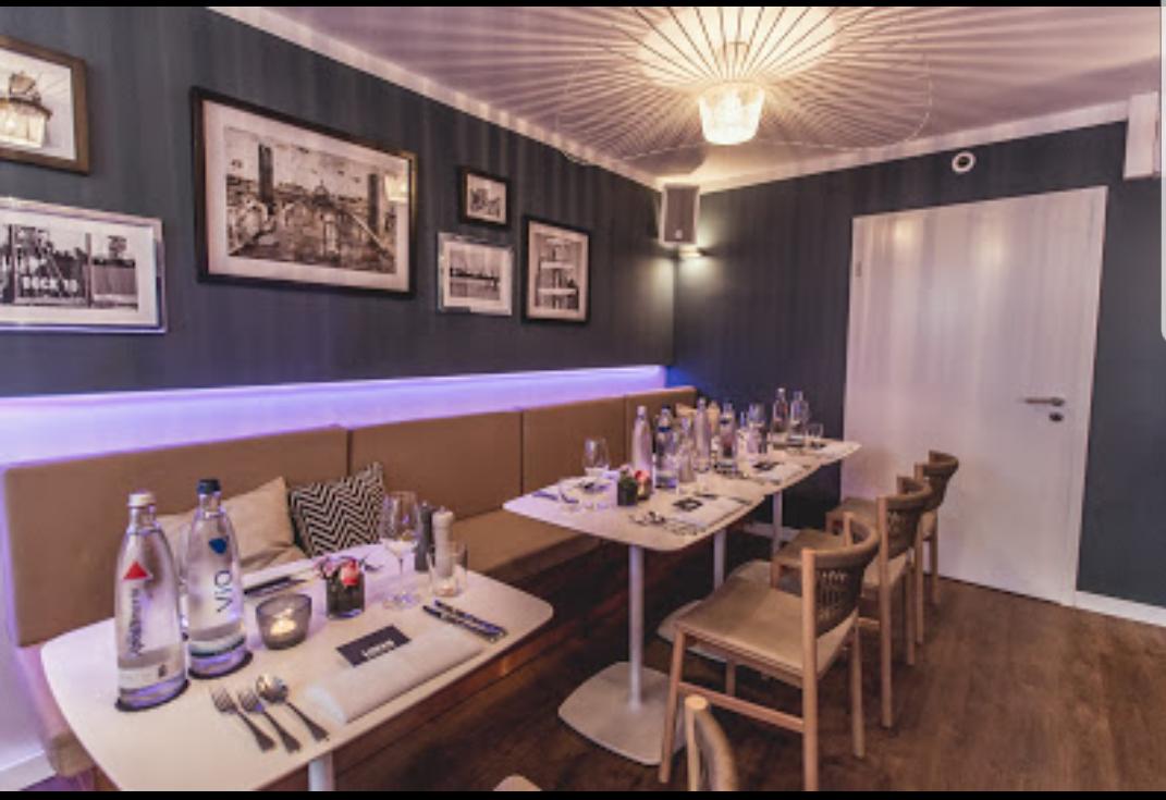 Liman-Fisch-Restaurant-Seafood-Bar-Hamburg-Winterhude-Tischdekoration